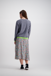 Fisherman Jumper | Grey Lime