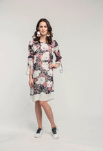 Load image into Gallery viewer, 403 Lexie Dress - navy rose .jpg