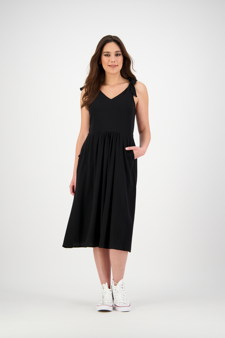 Isabella Dress | Soft Black