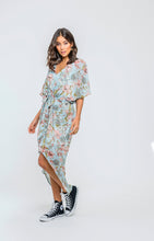 Kendal Dress | Sky Floral