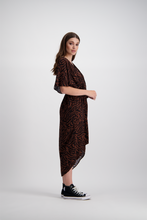 Kendal Dress | Dark Zebra