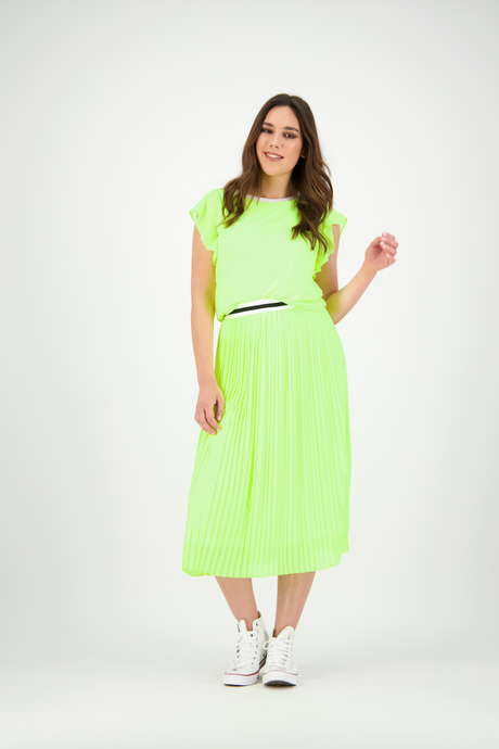 Erin Skirt | Neon Lime