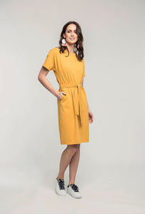 469 Theodora Dress - honey knit .jpg
