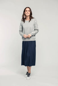 488 Robyn Jumper - grey star & 480 Sydney Skirt - indigo satin  (3).jpg