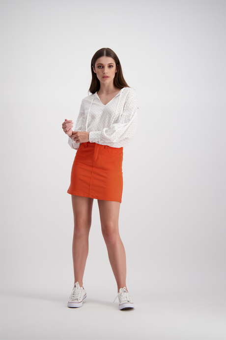 Pippa Mini Skirt | Fanta Cord