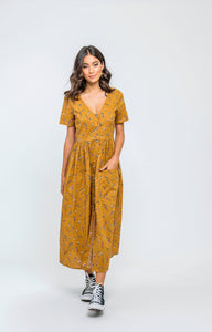 Amirah Dress | Sweet Mustard