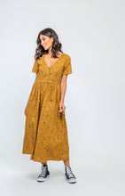 Load image into Gallery viewer, Amirah Dress | Sweet Mustard