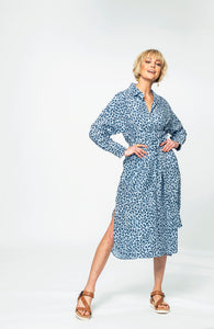 Tash Shirt Dress | Leo Linen