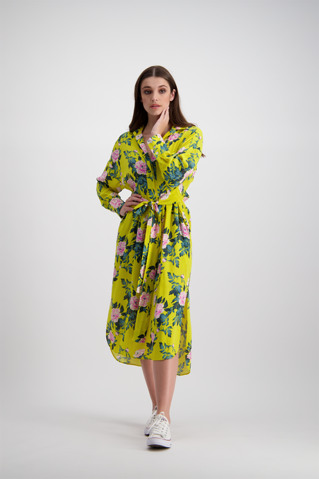 Tash Shirt Dress | Citrus Floral