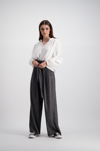 Marie Pants | Off Black
