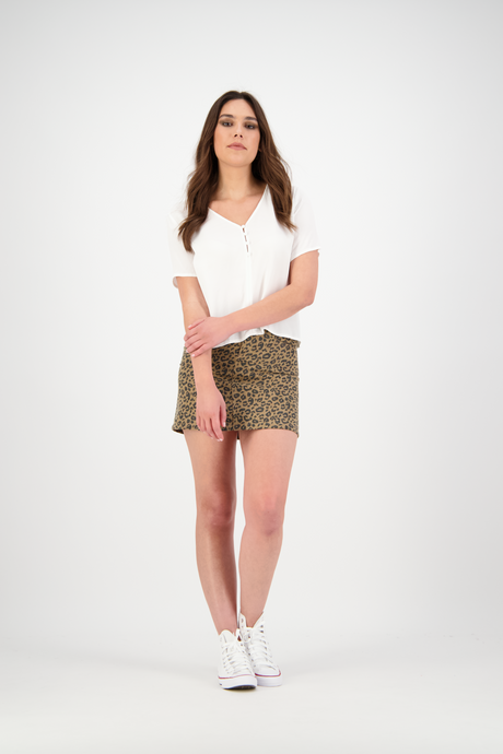 Pippa Mini Skirt | Faded Leo