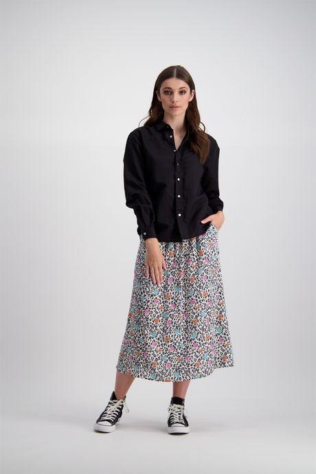 Meredith Skirt | Leopard Rose