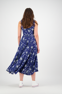 Tui Dress | Navy Daisy