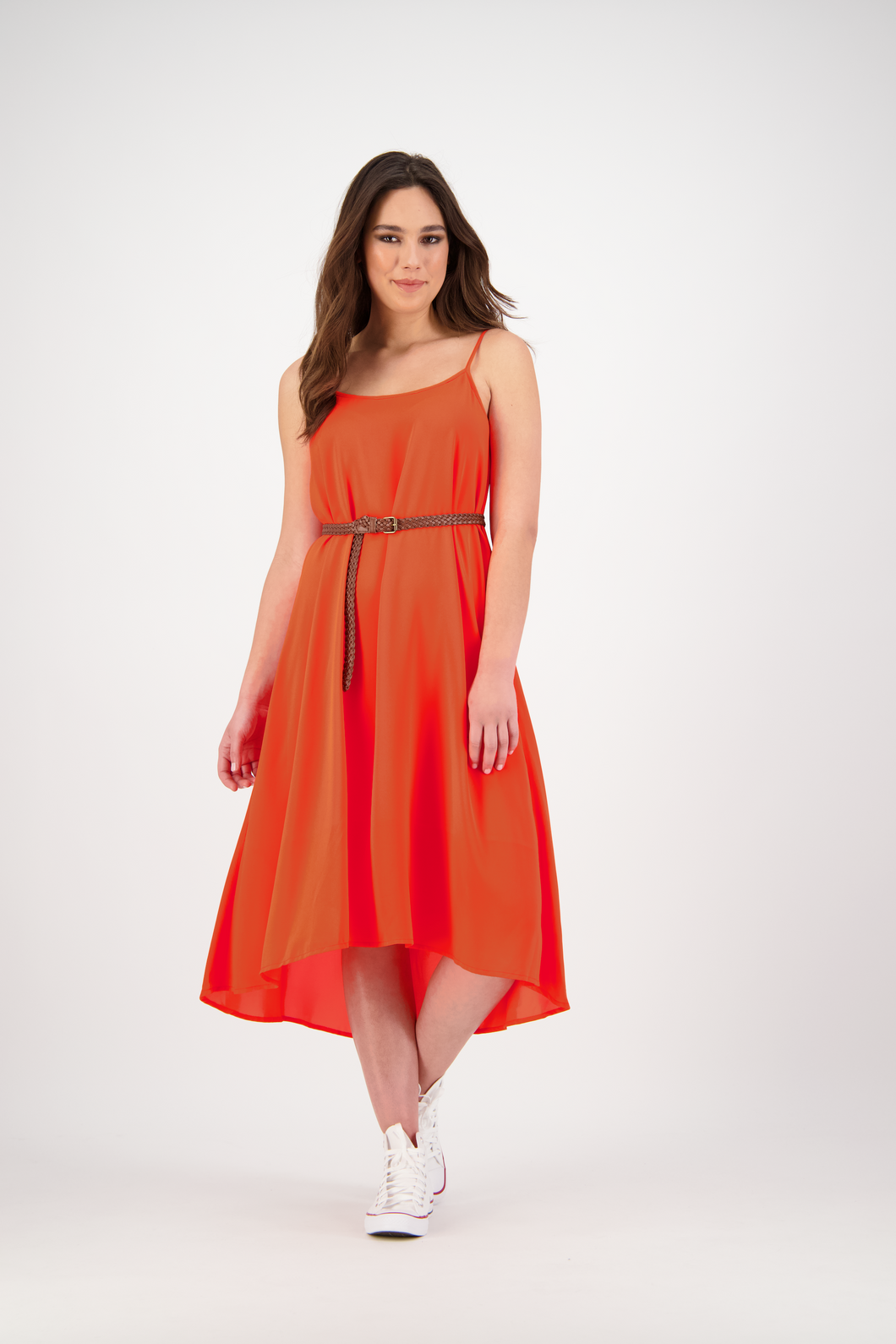 Manaia Dress | Tangerine