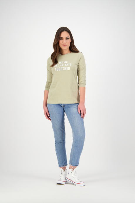 Hattie Long Sleeve | Warm Sage