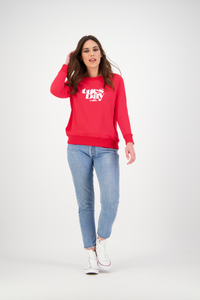Loren Sweatshirt | Vintage Red
