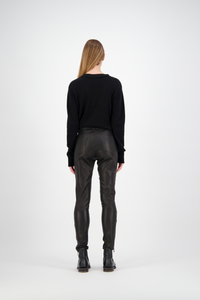 Leather Pants | Black Leather