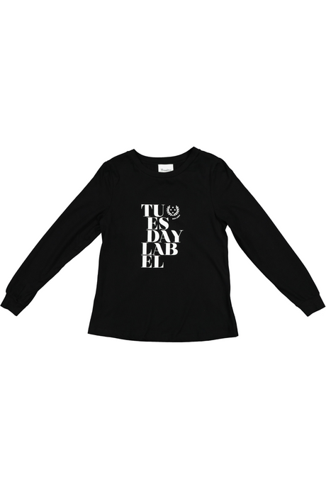 Hattie Long Sleeve | Warm Black
