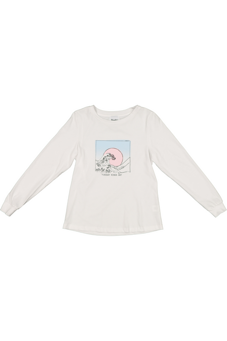 Hattie Long Sleeve | Warm White