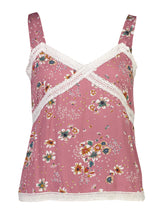 Load image into Gallery viewer, Amara Cami Plum Floral_Front.jpg