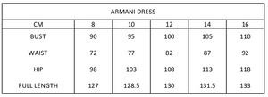 Armani Dress | Navy Tulip