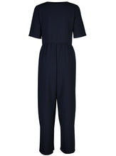 Load image into Gallery viewer, Ash Jumpsuit True Navy_Back.jpg