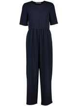 Load image into Gallery viewer, Ash Jumpsuit True Navy_Front.jpg