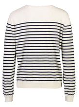 Load image into Gallery viewer, Breton Jumper Navy Stripe _Back.jpg