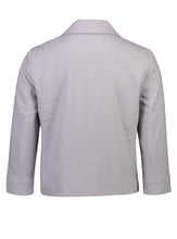 Load image into Gallery viewer, Caroline jacket silver linen _Back.jpg