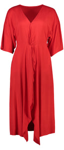 Courtney Dress | Red Fire