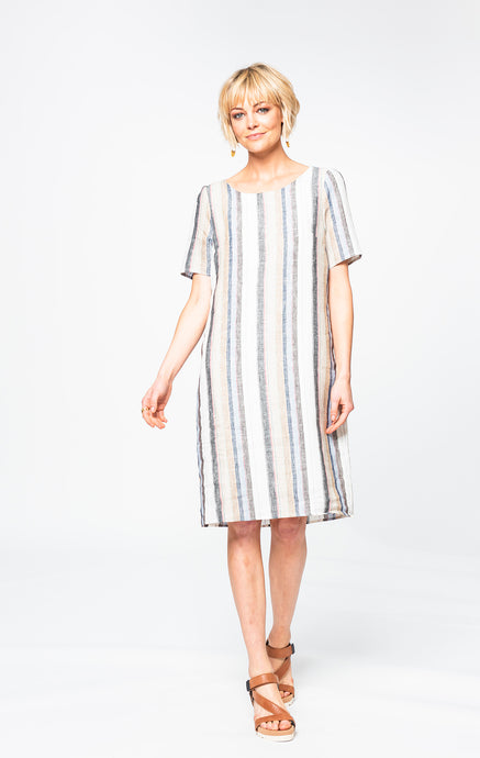 Kelly Dress | Candy Stripe