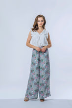 Load image into Gallery viewer, Ella Top & Briar Pants- Pearl & Lotus Pond 1.jpg