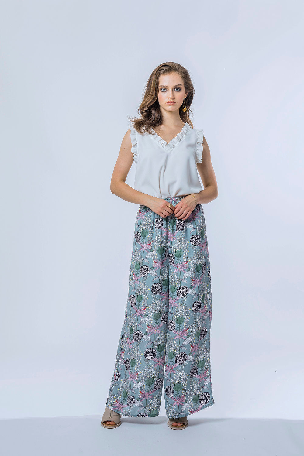 Ella Top & Briar Pants- Pearl & Lotus Pond 1.jpg