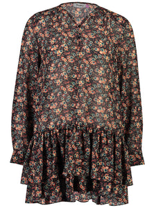 Elle mini dress 70s Floral _Front.jpg