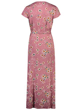 Load image into Gallery viewer, Elora Maxi Plum Floral _Back.jpg