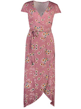 Load image into Gallery viewer, Elora Maxi Plum Floral _Front.jpg