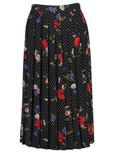 Load image into Gallery viewer, Faye Skirt Floral dot_Front.jpg