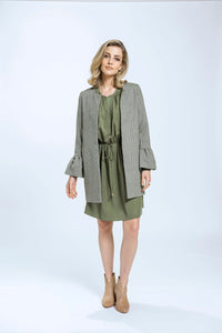 Frill Coat- Green Herringbone 3.jpg