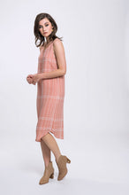 Load image into Gallery viewer, Hailey Dress- Pink Check 2.jpg