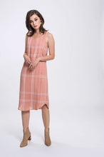 Load image into Gallery viewer, Hailey Dress- Pink Check 3.jpg