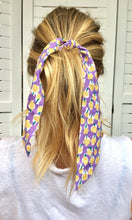 Load image into Gallery viewer, Tie Scrunchie | Lilac Punch