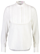 Load image into Gallery viewer, Isobel top White Bib_Front.jpg