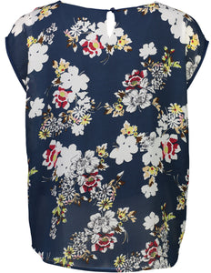 Jackie top navy Floral _Back.jpg