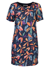 Load image into Gallery viewer, Kelly Dress Abstract Fun_Front.jpg