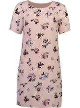 Load image into Gallery viewer, Kelly Dress Pink Floral_Front.jpg