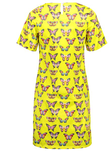 Kelly dress yellow butterfly _Back.jpg