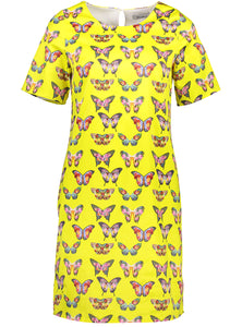 Kelly dress yellow butterfly _Front.jpg