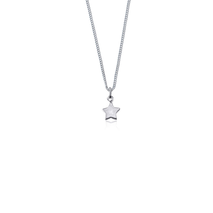 LA LUNA ROSE WISH UPON A STAR NECKLACE - STIRLING SILVER