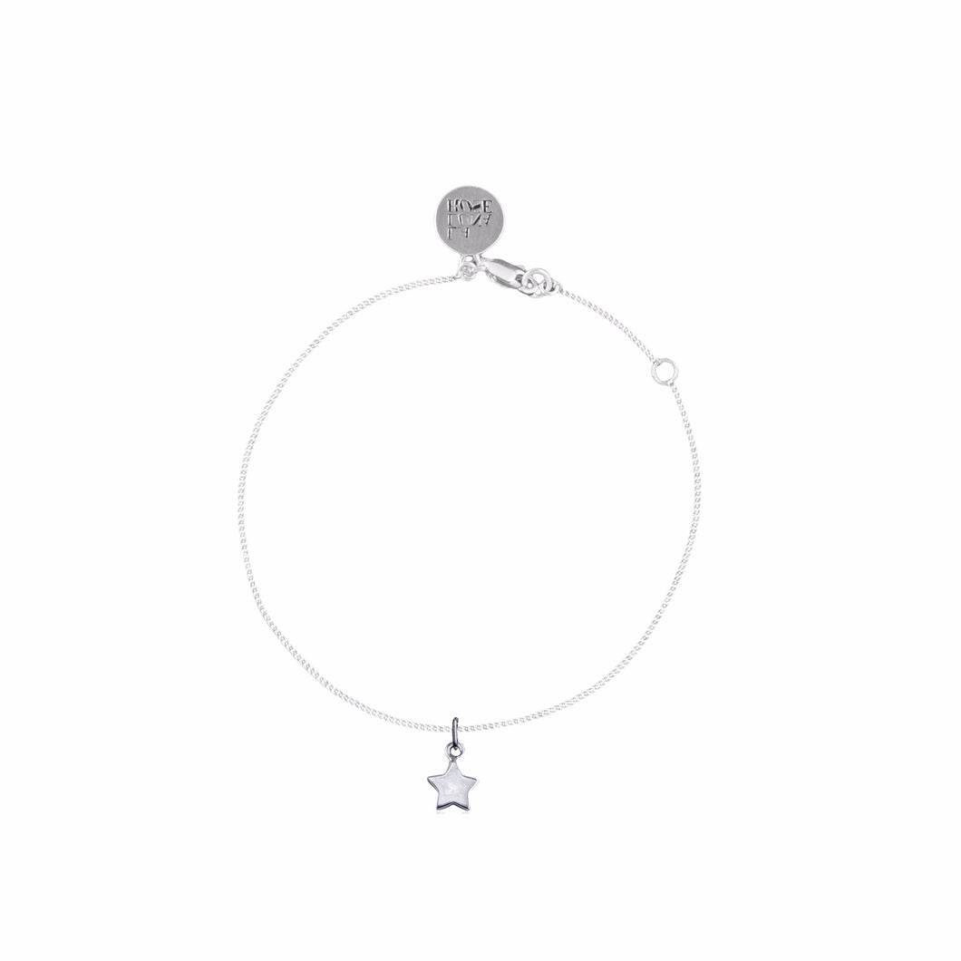 LA LUNA ROSE WISH UPON A STAR BRACELET - STIRLING SILVER