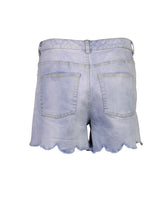 Load image into Gallery viewer, Lara shorts blue linen _Back.jpg
